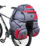 Double Rear Bicycle Bags, 65L Bicycle Pannier Bags - Best Reviews Guide