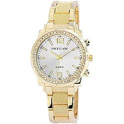 Excellanc Women's Quartz Watch 152102500111 with Metal Strap