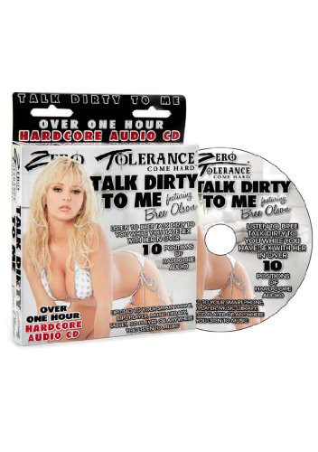 Price comparison product image Zero,  Tolerance Toys Talk Dirty To Me Bree Olson Audio Pornstar