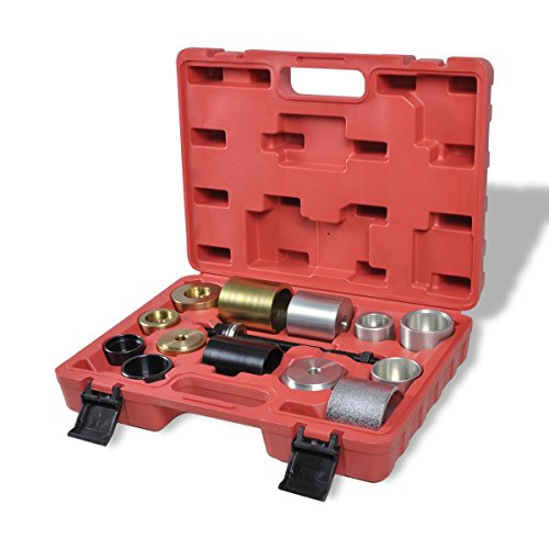 eBay: vidaXL Silentlager-Abzieher-Werkzeugsatz BMW Tonnenlager Kugellager Abzieher-Set