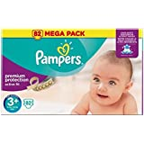 Pampers Active Fit Taille 3+ 5 a 10 kg 82 couches