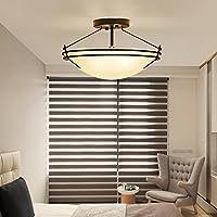 BBSLT Il Natale moderno, minimalista, American, led, soggiorno, luce da soffitto, caldo, romantica camera da letto, sala da pranzo, balcone, (42*27cm* bianco caldo)
