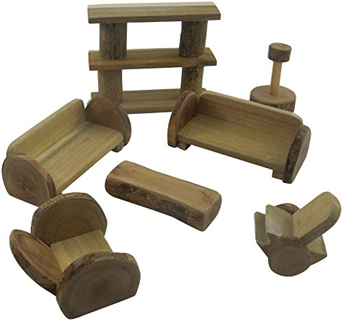 Lichee Toys 105010–salotto mobili in sacchetto in cotone per bambini