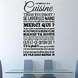 wandaufkleber kinderzimmer junge Les Règles De La Cuisine für die Küche