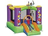 Happy Hop Bubble Slide Bouncer, 9201B, Multicolore