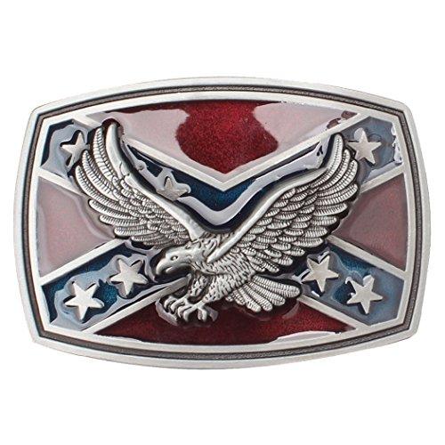 Zoylink Hebilla de Cinturón para Hombre Hebilla de Cinturón de Metal Águila Decorativa Altísima Unique Novedad Hebilla