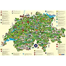 Schweiz Kinderkarte: Poster (Kümmerly+Frey Kinderwelt)