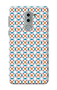 Huawei Honor 6X Back Cover, 3D Designer Printed Honor 6X Back Cover [Matte Finish, Hard Case]