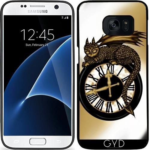 Custodia in silicone per Samsung Galaxy S7 (SM-G930) - Tempo Drago by Pezi Creation