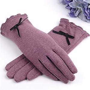 G-C-H GCC Kaschmir-Wärme fünf Finger der Damenhandschuhe Nette
