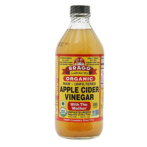 1. Bragg Organic Raw Apple Cider Vinegar