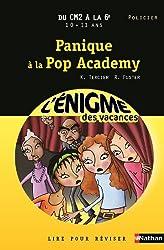 Cahier de vacances  - Enigmes vacances Panique à la pop academy