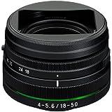 Pentax 18-50 mm / F 4.0-5.6 DA L DC WR RE Objectifs 18 mm
