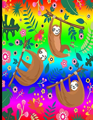 Sloth My Spirit Animal Inconspicuous Cannabis Review Logbook: Rainbow Sloth Weed Review Journal With 110 Pages. Log Your Strain Reviews, What Symptoms ... For Reviewing Edibles, Flower & Concerntrates