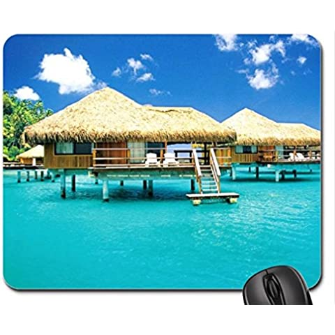 Beach Cottages Mouse Pad, tappetino per Mouse - Beach Cottage Accessori