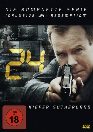 "24 - The Complete Collection inklusive ""24: Redemption"" (49 Discs)"