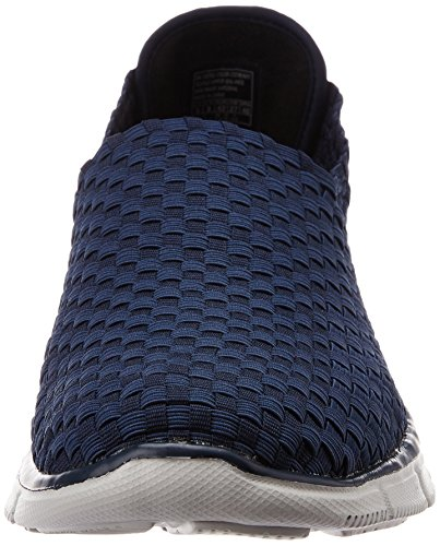 Herren Equalizer Familiar Nvy Blau Sneakers Skechers wBZYCfxqw