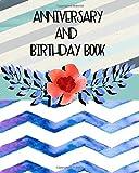 Anniversary and Birthday Book