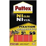 Pattex - 687066 - Adhésifs 10 Pastilles Fixation 20mm x 40 mm