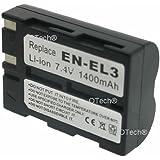 Batterie compatible pour NIKON EN-EL3A