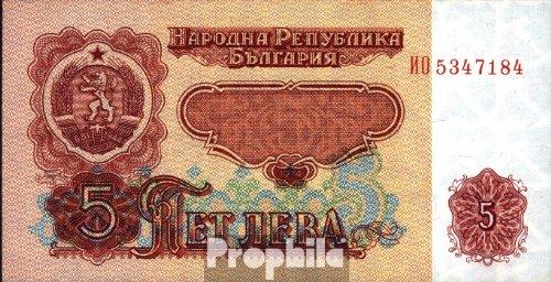 Preisvergleich Produktbild Bulgarien Pick-Nr: 95a gebraucht (III) 1974 5 Leva (Banknoten für Sammler)