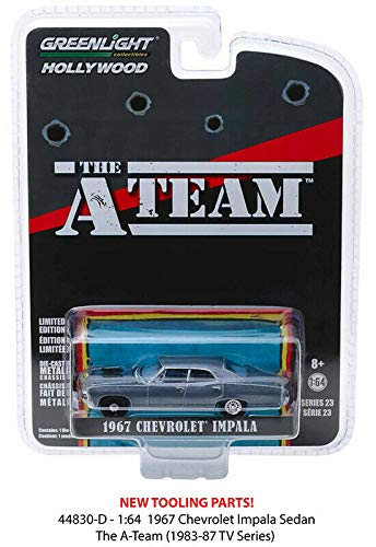 Greenlight 1967 Chevrolet Impala A Team Hollywood 1:64