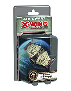 Fantasy FFGSWX65 Star Wars Scurrg H-6 Bomber Expansion Pack X-Wing Miniatures Game, Multicolor