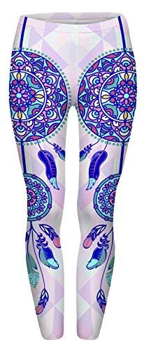 Fringoo--Womens-Yoga-Leggings-Fitness-Running-Pilates-Tights-Gym-Skinny-Pants-8-10-12-Stretchy
