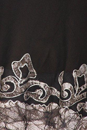 Sakkas Wilde Rabe Batik hoch niedrig Bluse / Tunika Schwarz / Weiß