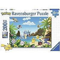 Ravensburger 12840 - Puzzle Attrapez-Les Tous Pokémon 200 Pièces