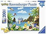 Ravensburger 12840–Puzzle attrapez-les alle Pokémon 200Teile