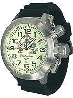XXL 53 mm Maxi. Reloj de tamaño Diver función de alarma Tauchmeister T0187-PU de Tauchmeister 1937