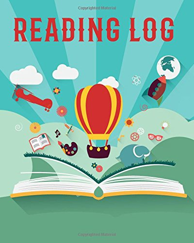 Reading Log: Stories in Book Style Reading Lover Journal Book Size 8x10 Inches 104 Pages: Volume 4 (Record Reading Book)