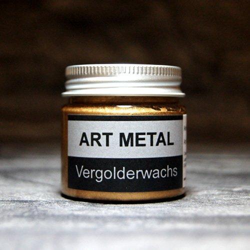 Art Metal Vergolderwachs Antikgold 50 ml