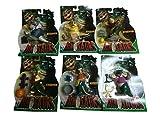 *Vintage* DIE DINOS (DINOSAURS) Actionfiguren Komplettset: Alle 6 erschienen Figuren MOC!