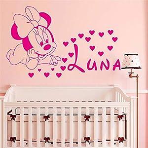Aufkleber Kinderzimmer Minnie Maus   Deine-Wohnideen.de