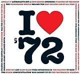 1972 Geburtstag oder Jahrestag Geschenke - 1972 CD und 1972 Ich Lieben Grußkarten