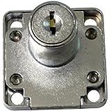 AERZETIX: Serrure à cylindre pour boîte aux lettres avec 2 clés