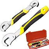 llave universal,Phego 2pcs Llave inglesa Snap n mango conjunto de herramientas