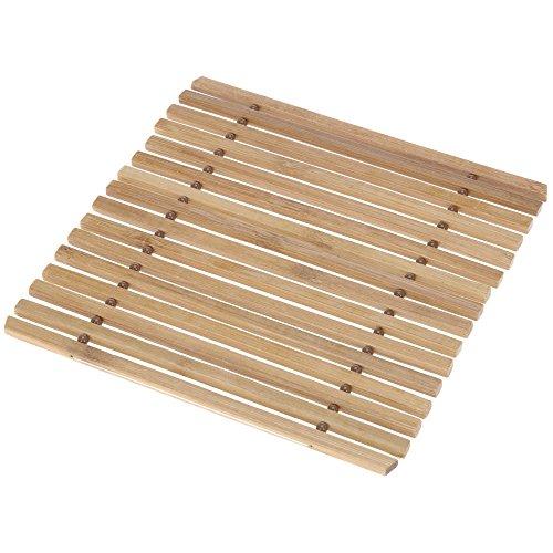 Promobo Dessous de Plat Cuisine 100% Bambou Naturel Deco Zen