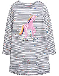 Joules Baby Girls Bunty Chalk Woven Dress and Bottoms Set Colour White