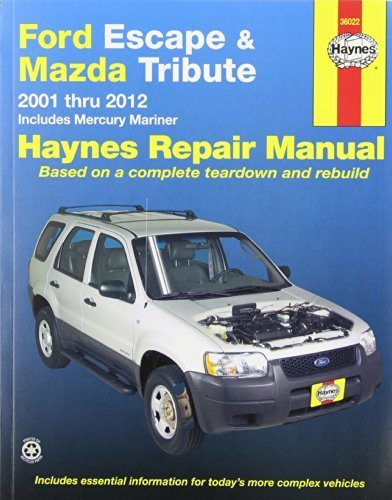 ford-escape-mazda-tribute-2001-2012-2001-thru-2012-includes-mercury-mariner-automotive-repair-manual