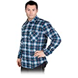 Arbeitshemd KF- M-XXXL Kariert Flanellhemd Holzfällerhemd Karohemd Thermohemd