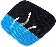 WAEKIYTL Gel Seat Cushion with Non-Slip Cover,Cool Breathable Gel Three-Dimensional Honeycomb Design Egg Sitte
