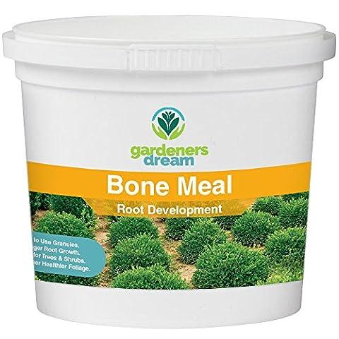 Gardenersdream - Bone Meal - Root Development Plant Food Garden