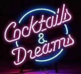 17x14 Zoll Real Glass Neonlicht Zeichen Bier Bar Pub Shop Club Garage Home Party...
