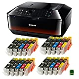 Bundle - Canon PIXMA MX725 All-in-One Multifunktionsgerät schwarz
