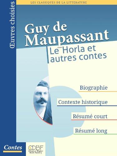 Le Horla et autres contes par Guy de Maupassant