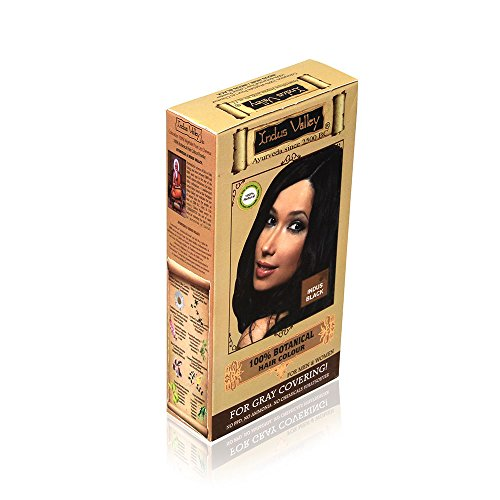 Indus Valley Indus Valley Organic Botanical Hair Colour Indus Black One Time Use