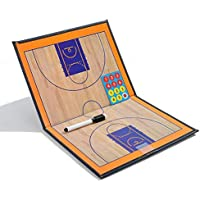 AWYJ Junta de Marcador de Baloncesto Doble Junta de Enseñanza Placa Color magnético Baloncesto Junta Entrenador Graphic Board Los Entrenadores Estrategia portapapeles